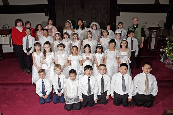 First Communion at Holy Trinity