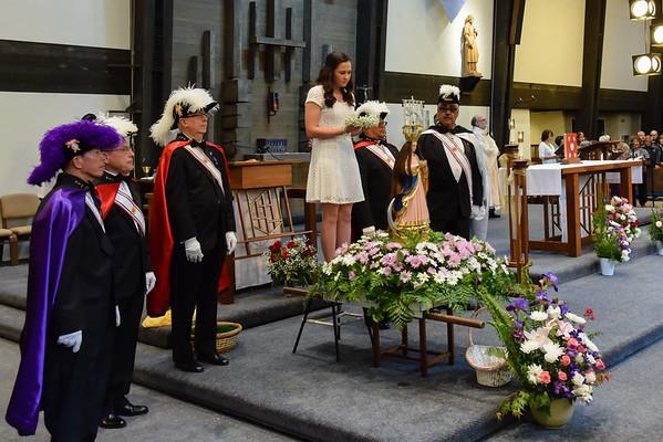 May 16, 2015 - Santa Marian Kamalen  (Our Lady of Guam)